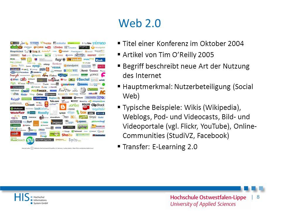 Web 2.0 Titel einer Konferenz im Oktober 2004