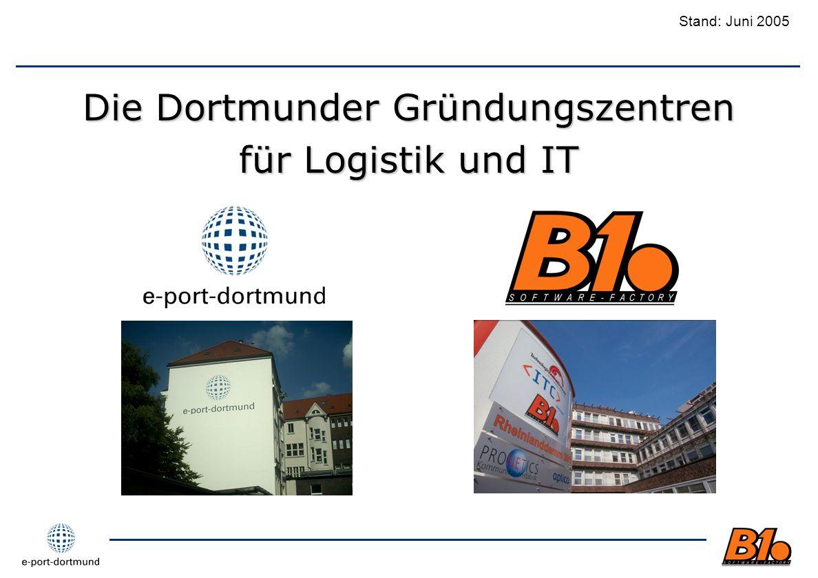 Die Dortmunder Gründungszentren