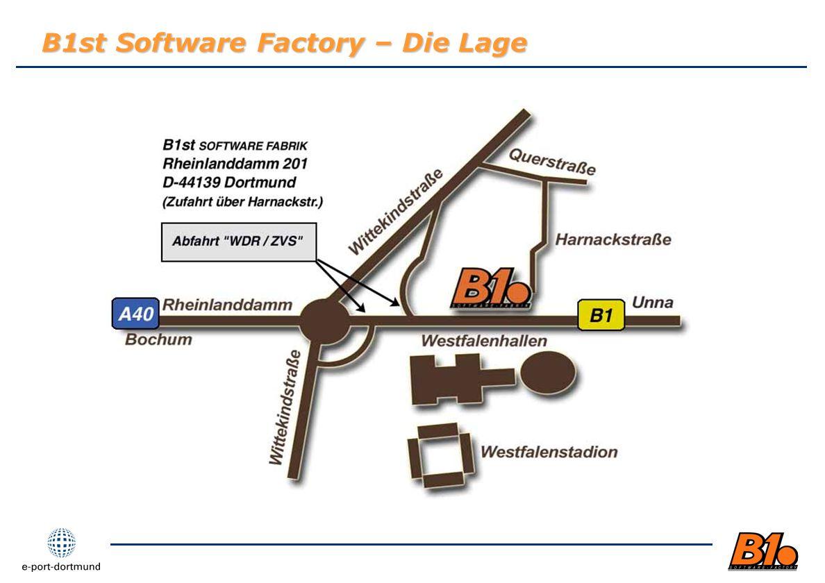 B1st Software Factory – Die Lage