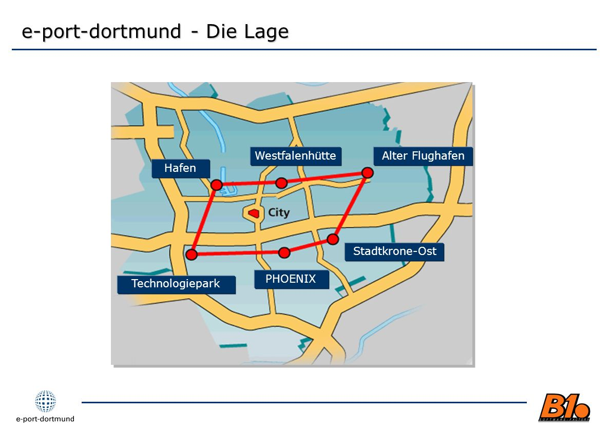 e-port-dortmund - Die Lage