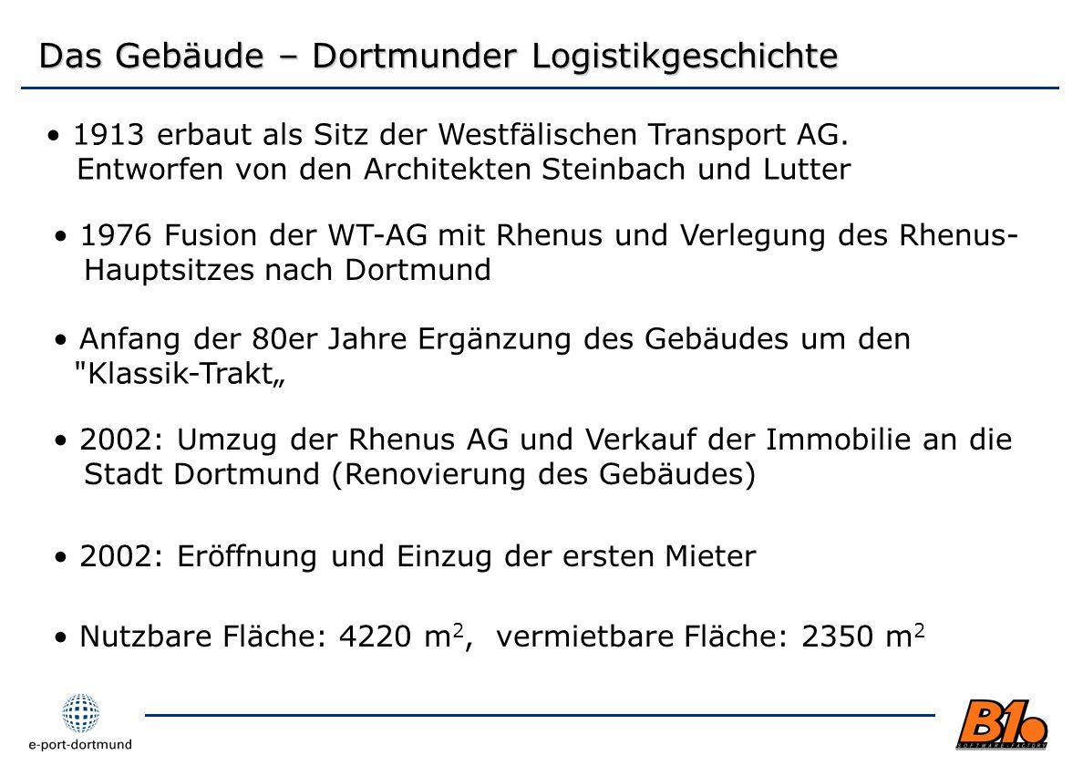 Das Gebäude – Dortmunder Logistikgeschichte