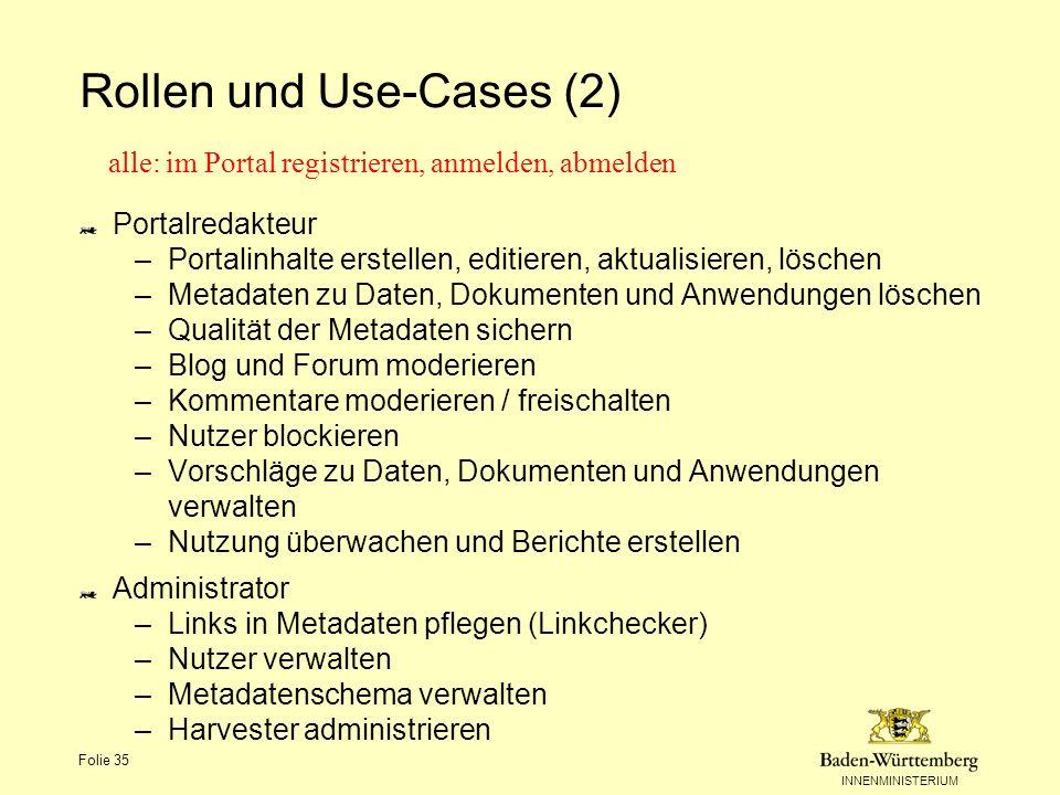 Rollen und Use-Cases (2)