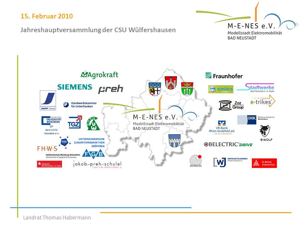 Jahreshauptversammlung der CSU Wülfershausen