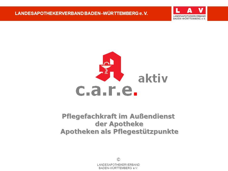 LANDESAPOTHEKERVERBAND BADEN–WÜRTTEMBERG e. V.