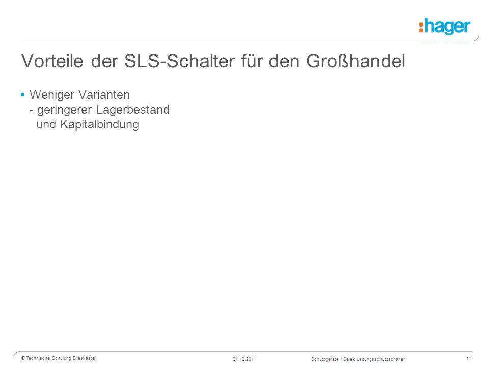 Vorteile der SLS-Schalter für den Großhandel