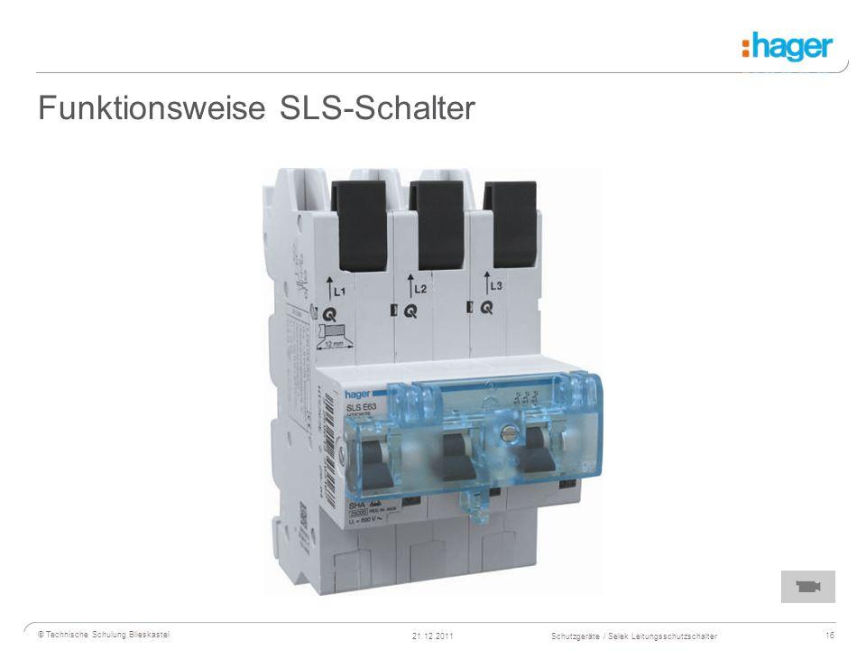 Funktionsweise SLS-Schalter