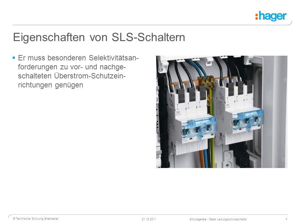 Eigenschaften von SLS-Schaltern
