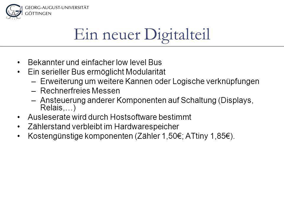 Ein neuer Digitalteil Bekannter und einfacher low level Bus