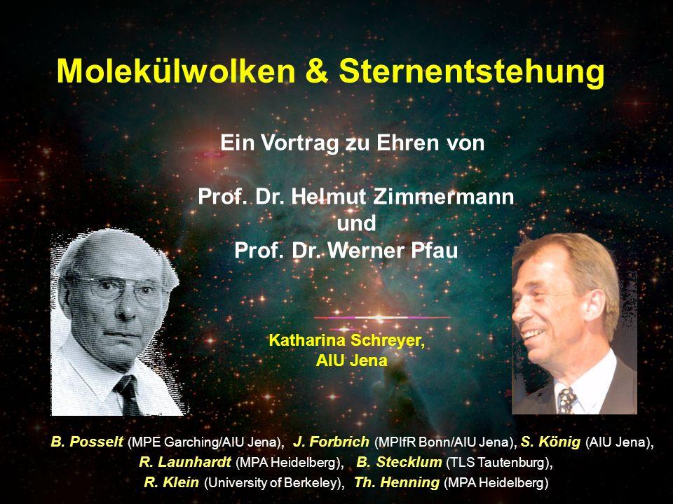 Ein Vortrag zu Ehren von Prof. Dr. Helmut Zimmermann