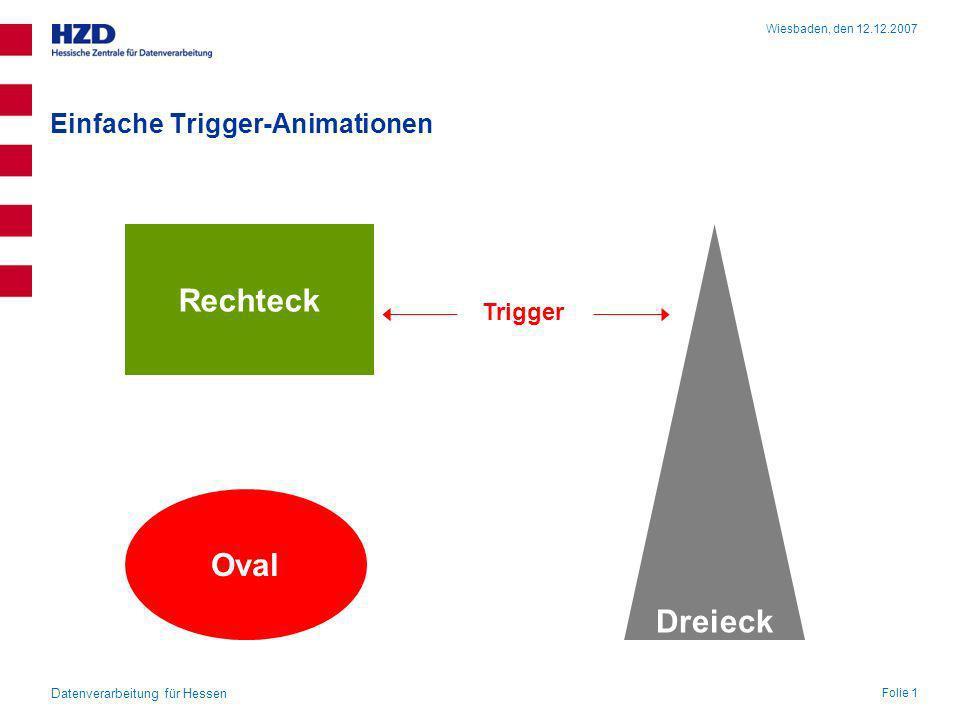 Einfache Trigger-Animationen