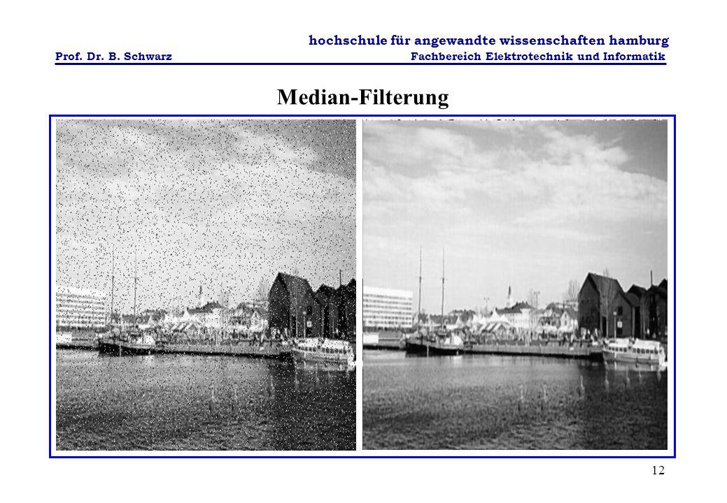 Median-Filterung
