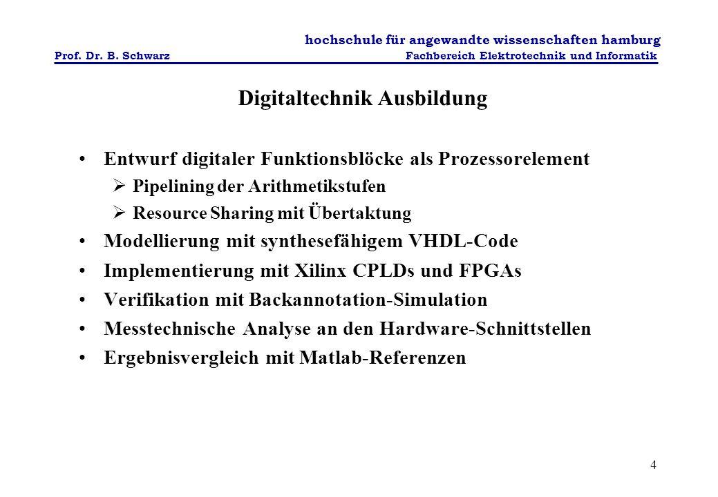 Digitaltechnik Ausbildung