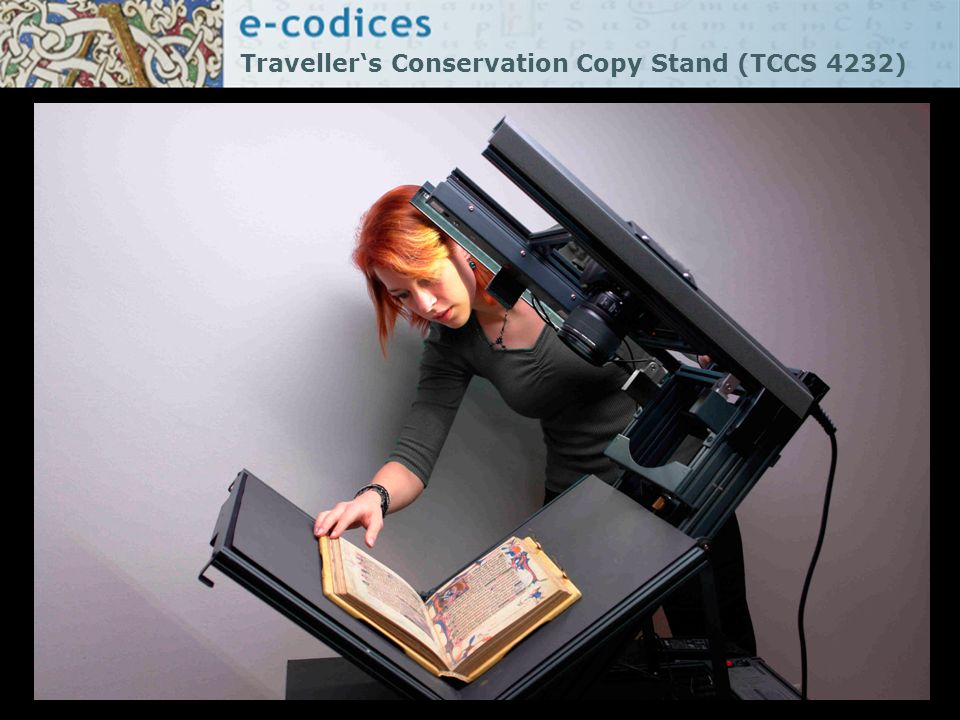 Traveller's Conservation Copy Stand (TCCS 4232)
