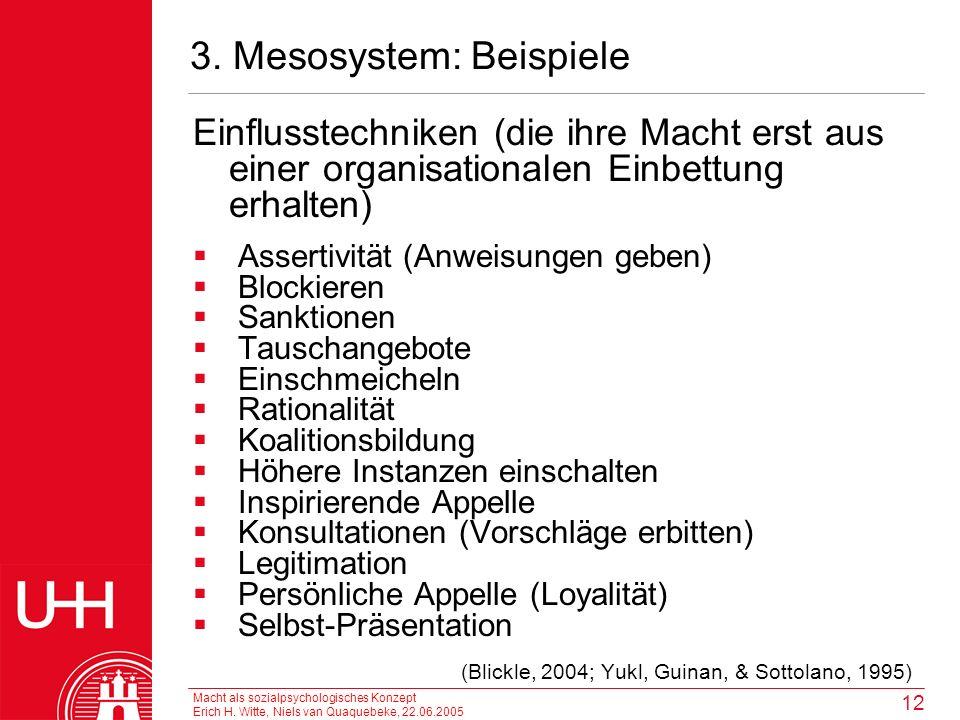 3. Mesosystem: Beispiele