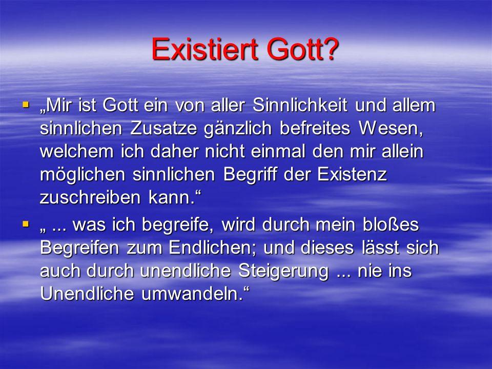 Existiert Gott