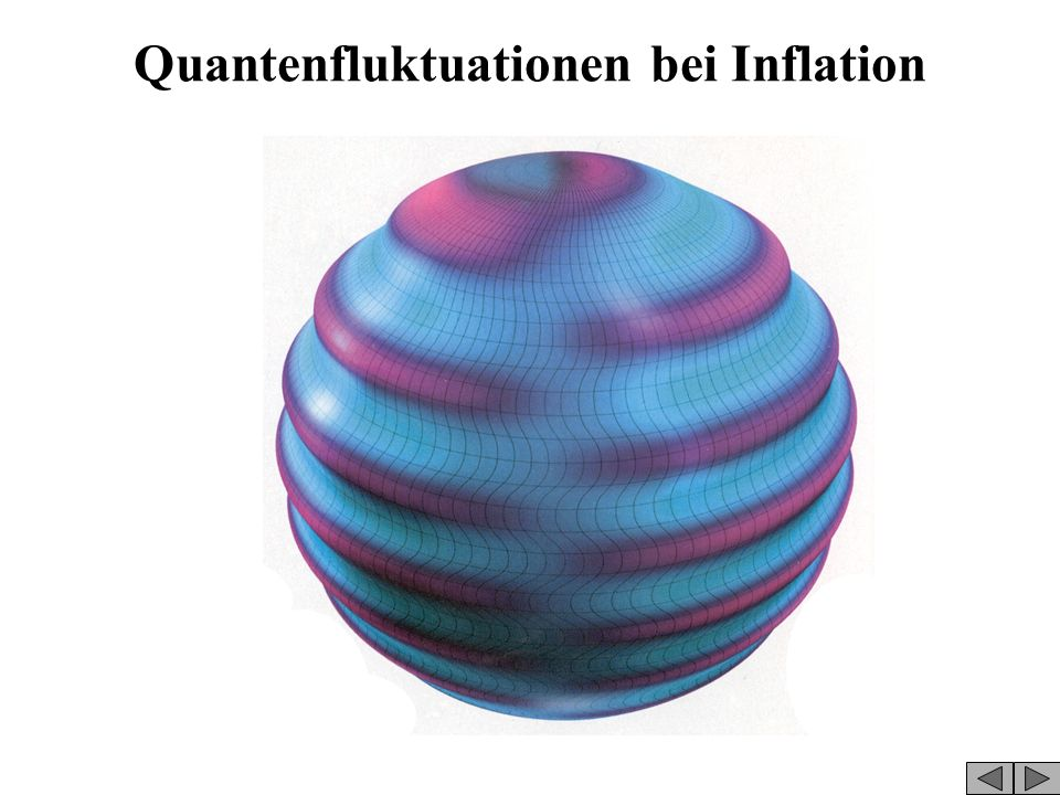 Quantenfluktuationen bei Inflation