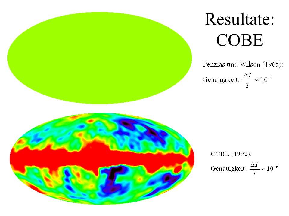 Resultate: COBE materieverteilung