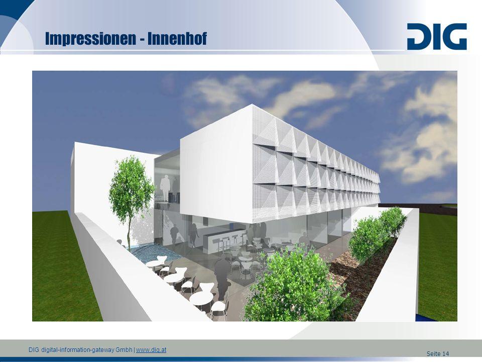 Impressionen - Innenhof