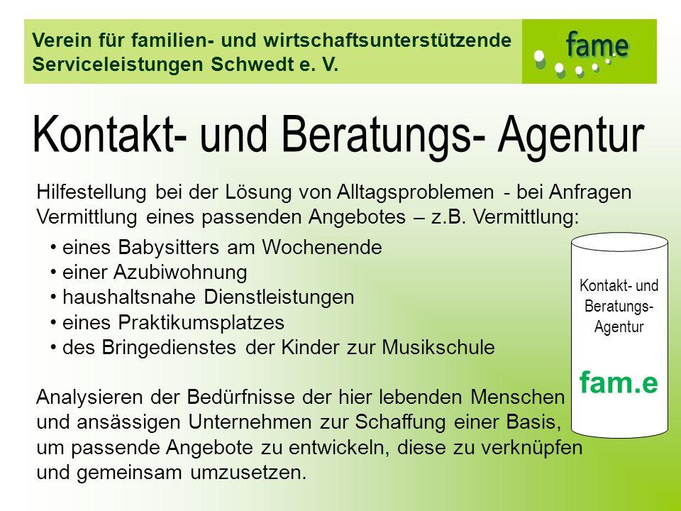 Kontakt- und Beratungs- Agentur