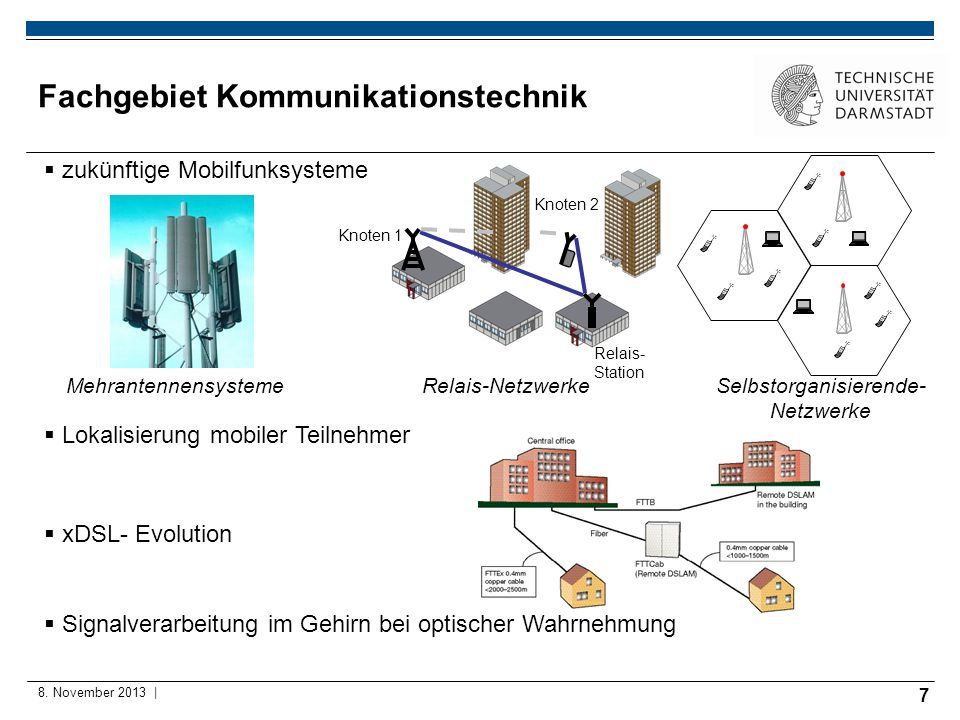 Fachgebiet Kommunikationstechnik
