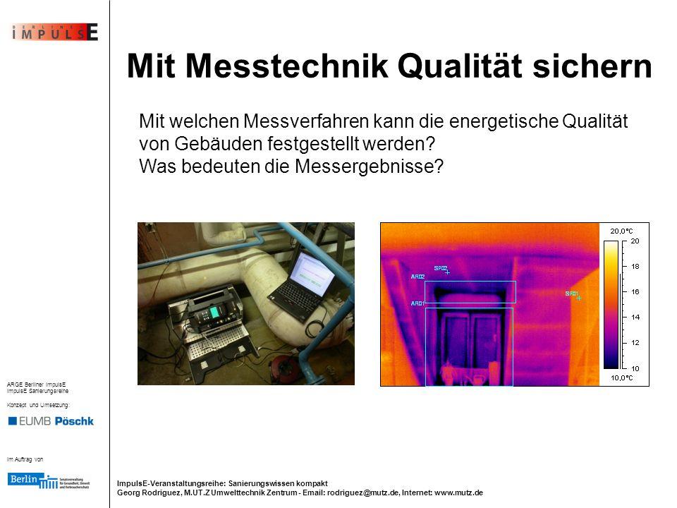 Mit Messtechnik Qualität sichern