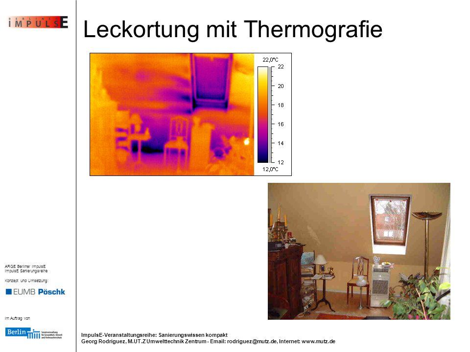 Leckortung mit Thermografie