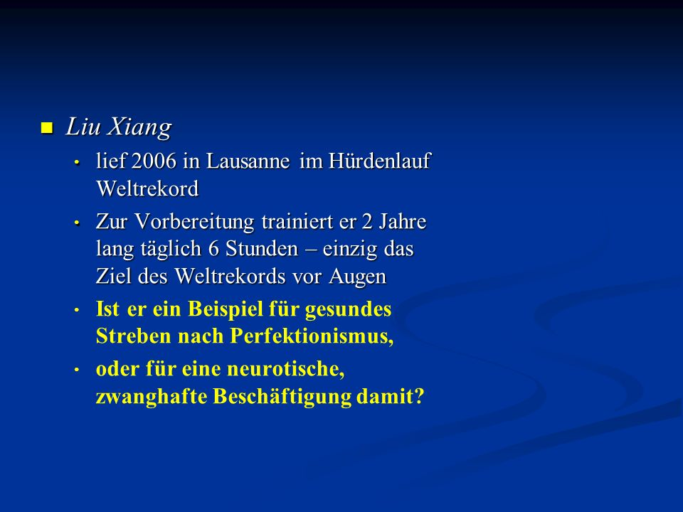 Liu Xiang lief 2006 in Lausanne im Hürdenlauf Weltrekord