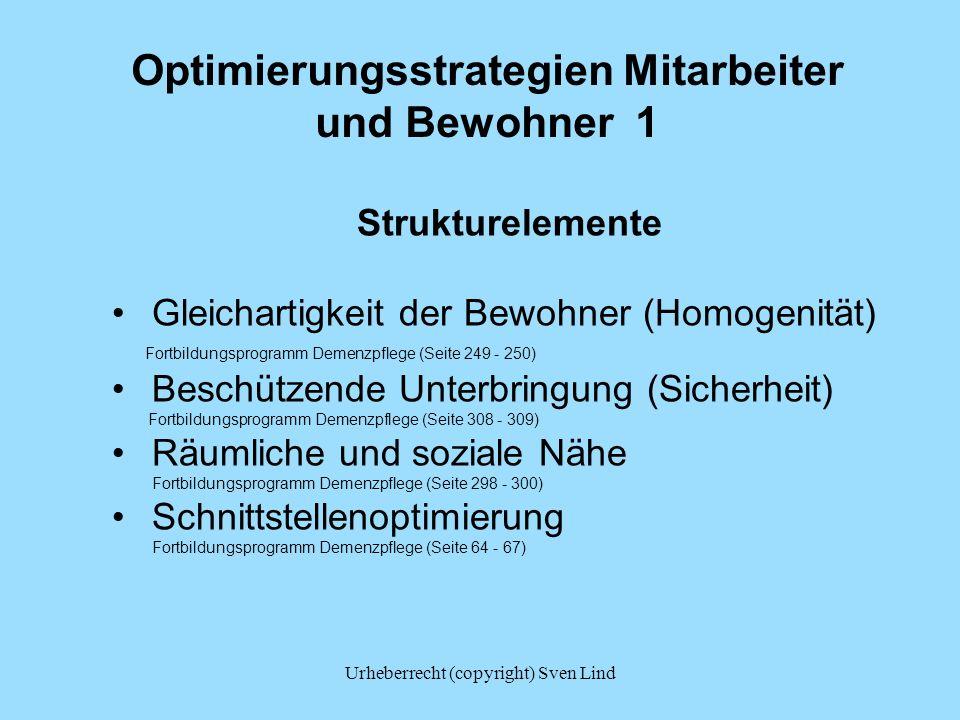 Optimierungsstrategien Mitarbeiter und Bewohner 1