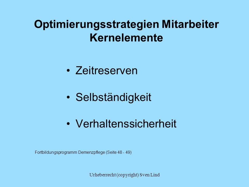 Optimierungsstrategien Mitarbeiter Kernelemente