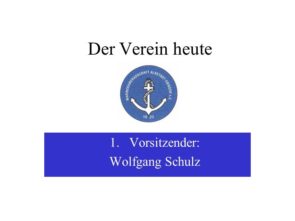 Vorsitzender: Wolfgang Schulz