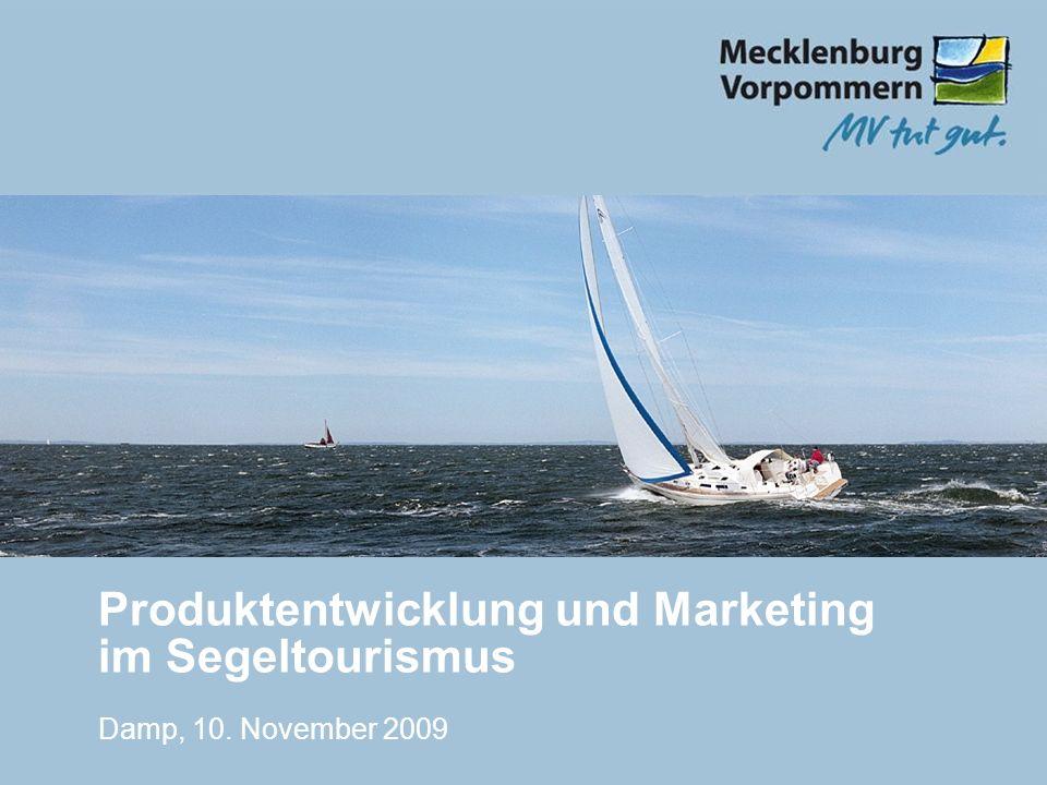 Produktentwicklung und Marketing im Segeltourismus