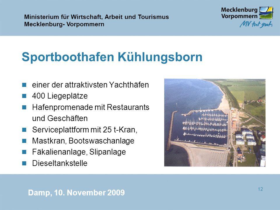 Sportboothafen Kühlungsborn