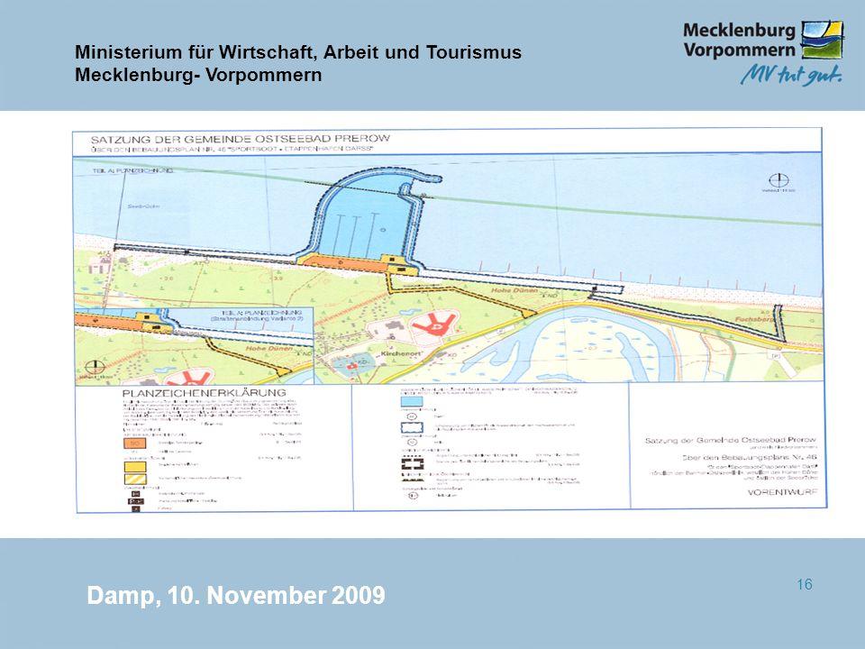 Damp, 10. November 2009