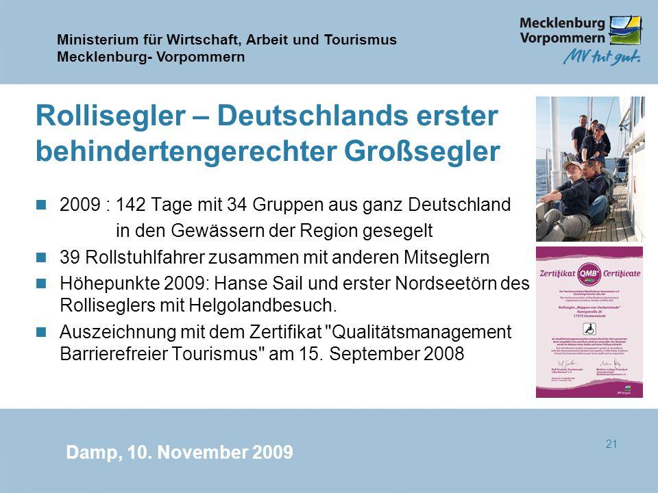 Rollisegler – Deutschlands erster behindertengerechter Großsegler