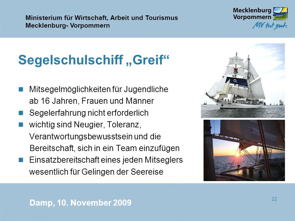 "Segelschulschiff ""Greif"