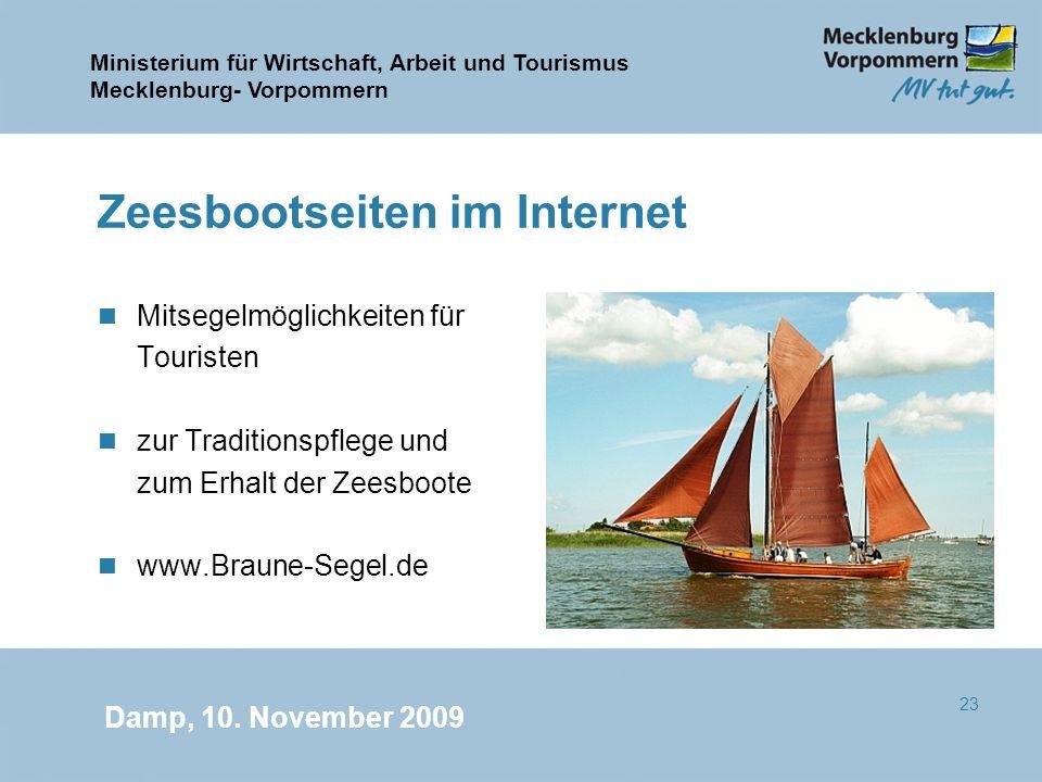 Zeesbootseiten im Internet