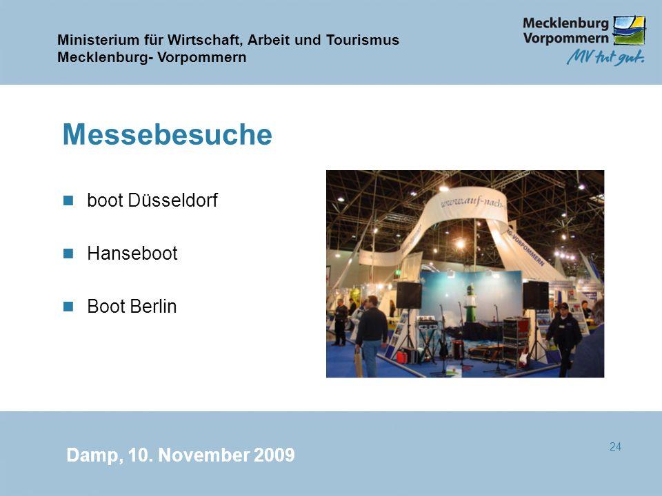Messebesuche boot Düsseldorf Hanseboot Boot Berlin
