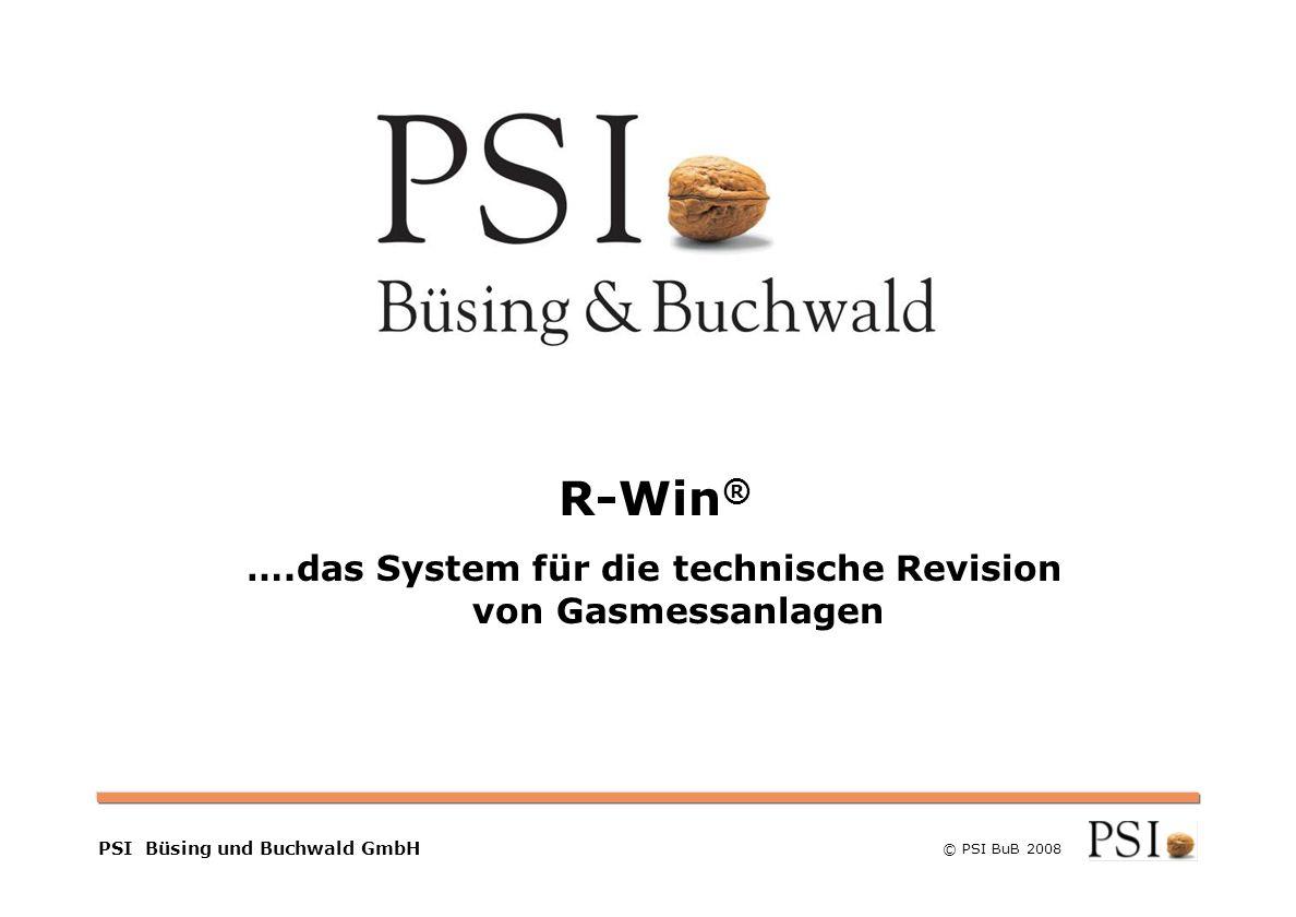 ….das System für die technische Revision von Gasmessanlagen