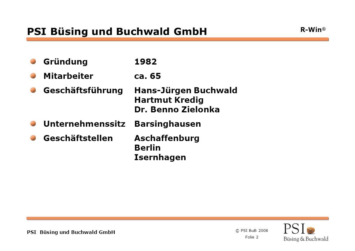 PSI Büsing und Buchwald GmbH