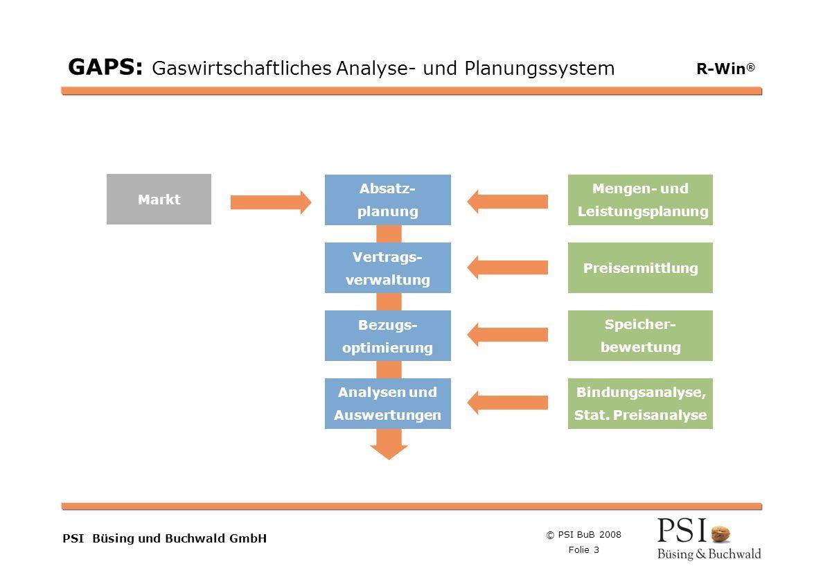 GAPS: Gaswirtschaftliches Analyse- und Planungssystem