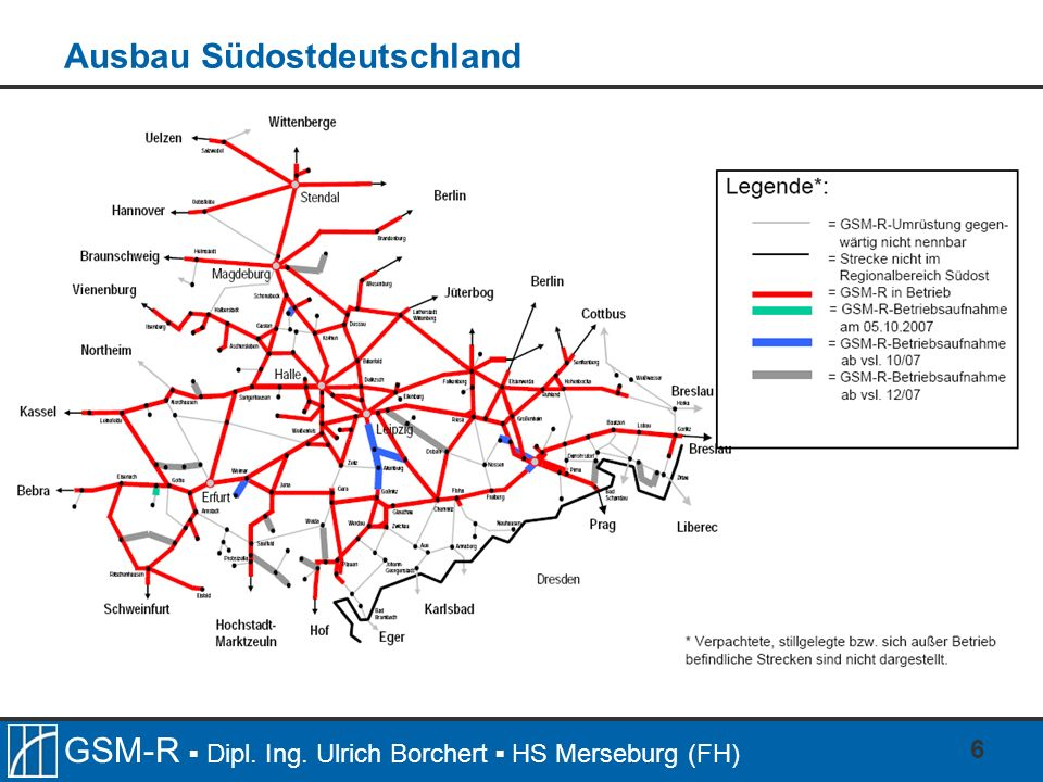 Ausbau Südostdeutschland