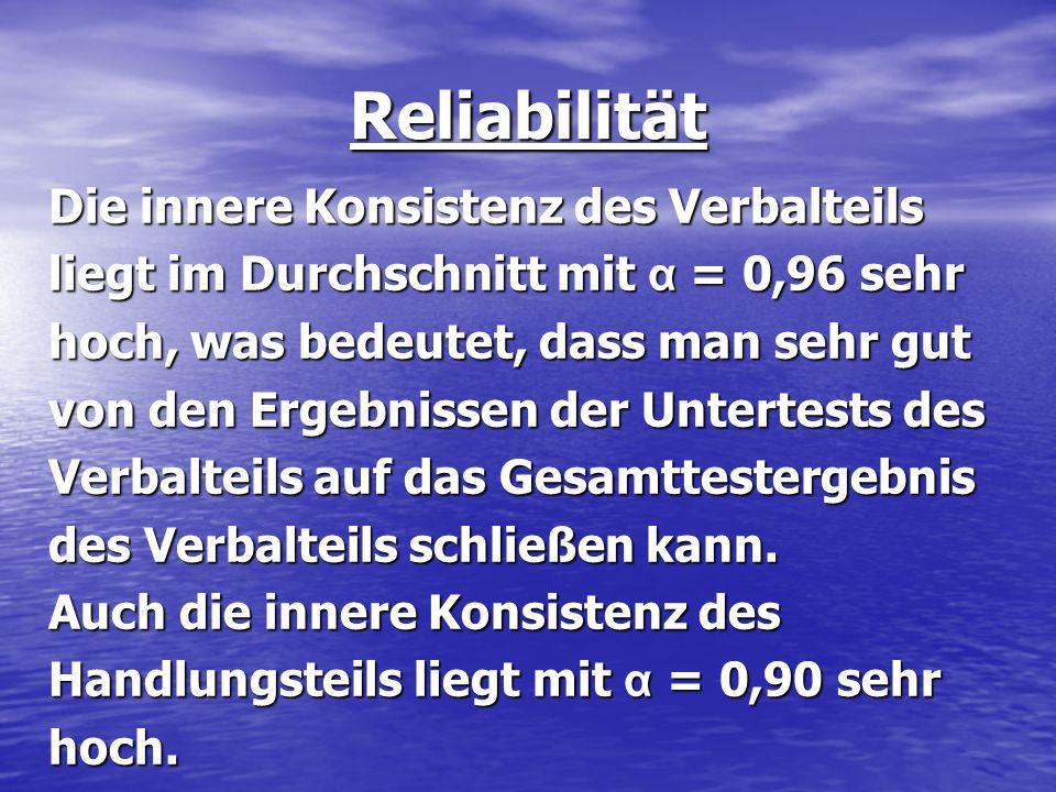 Reliabilität