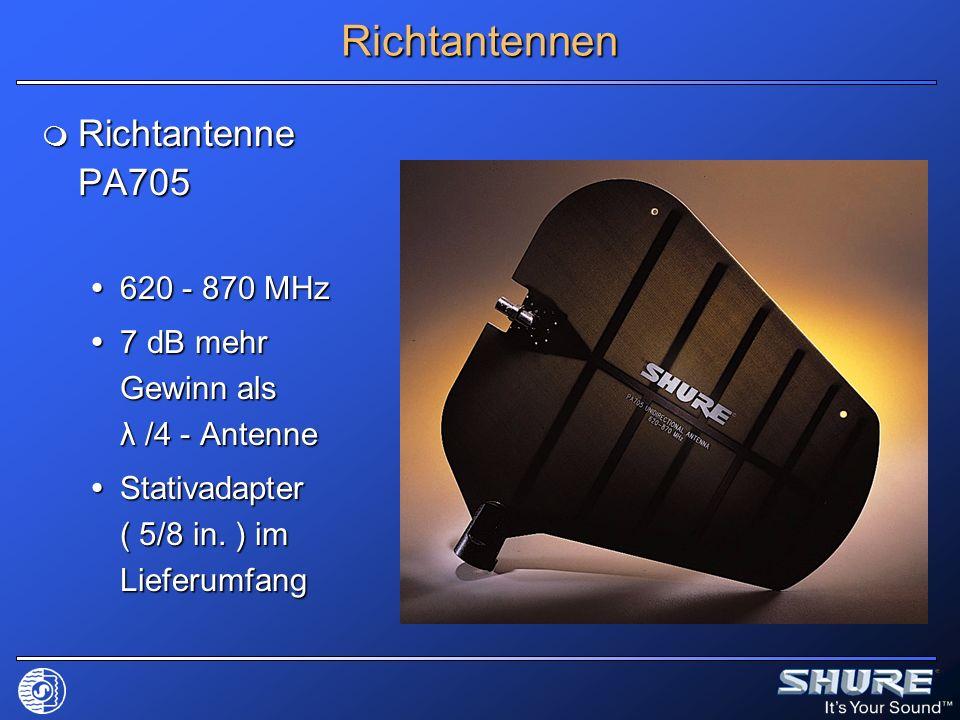 Richtantennen Richtantenne PA705 620 - 870 MHz