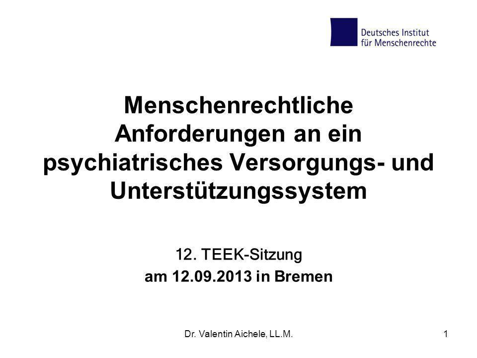 12. TEEK-Sitzung am 12.09.2013 in Bremen