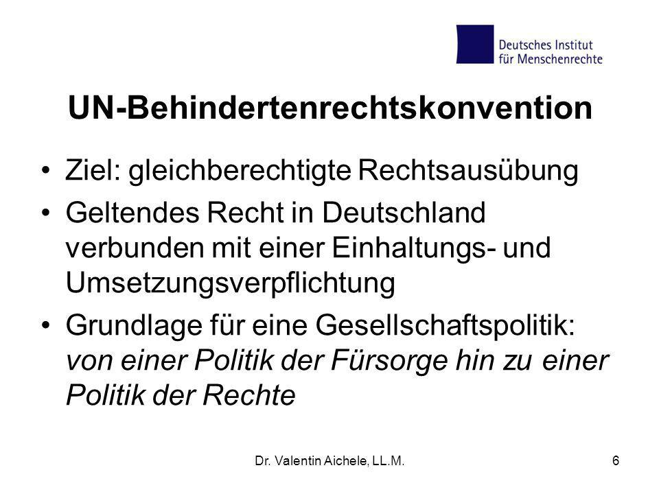UN-Behindertenrechtskonvention