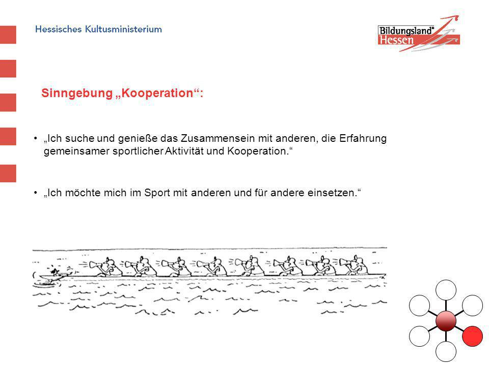 "Sinngebung ""Kooperation :"
