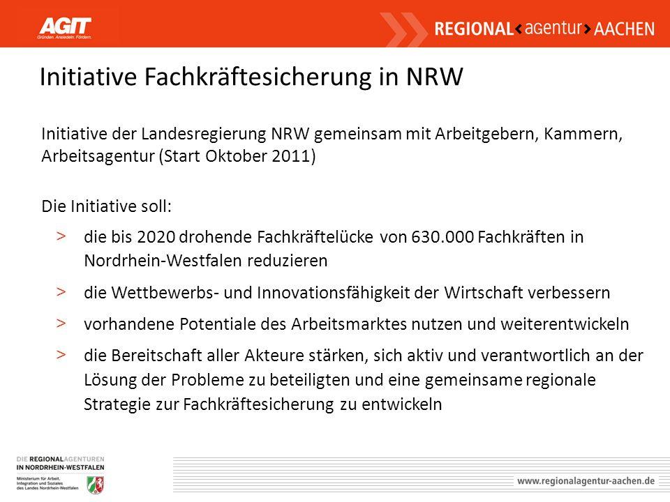 Initiative Fachkräftesicherung in NRW