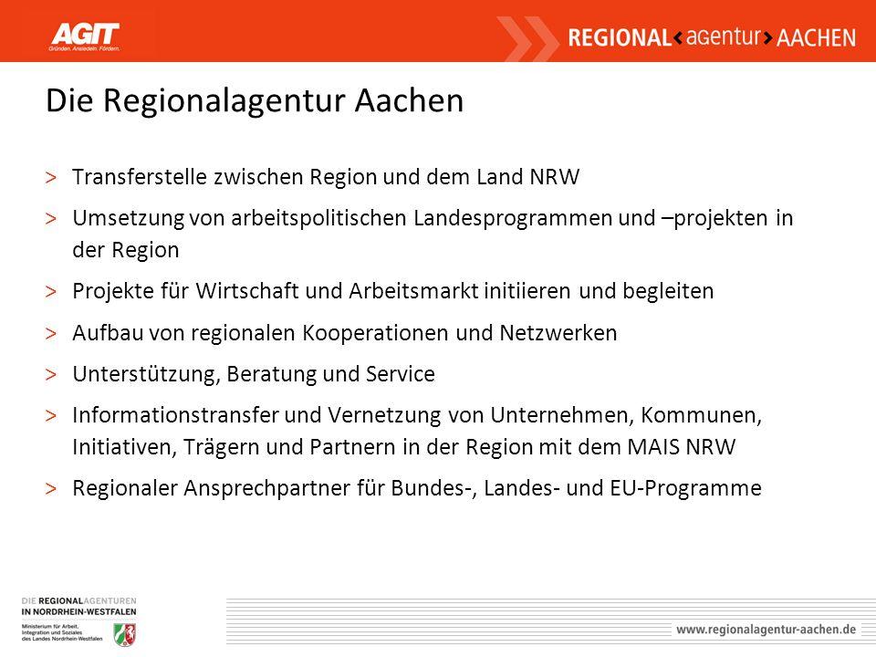 Die Regionalagentur Aachen