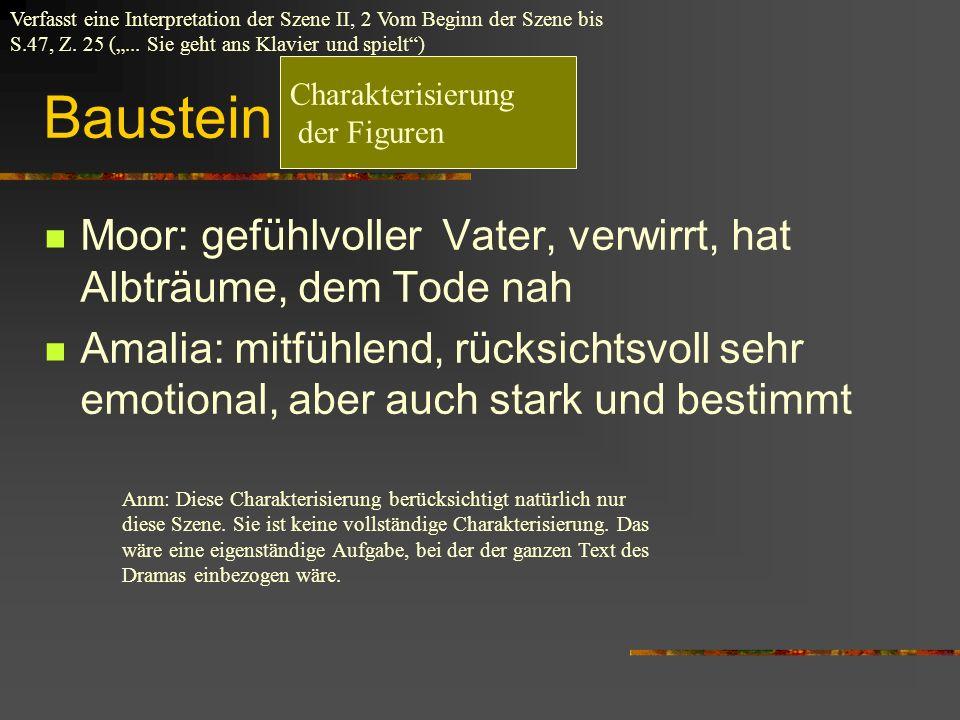 """Baustein """"Charakterisierung"""