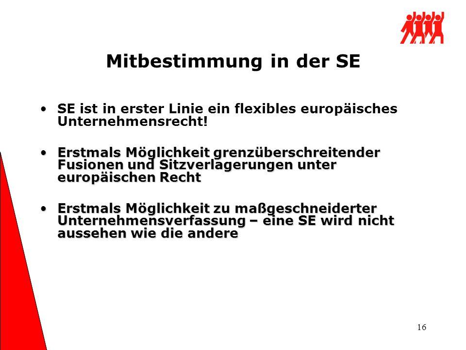 Mitbestimmung in der SE
